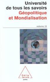 Geopolitique Et Mondialisation - Couverture - Format classique