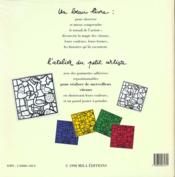 Les vitraux - 4ème de couverture - Format classique
