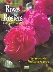 Roses et rosiers - Intérieur - Format classique