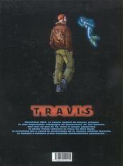 Travis t.2 ; opération minotaure - 4ème de couverture - Format classique