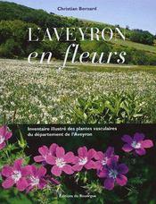 L'Aveyron En Fleurs - Couverture - Format classique