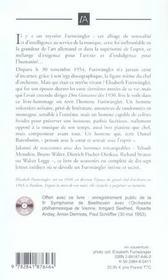 Pour wilhelm - 4ème de couverture - Format classique
