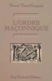 Ordre maconnique (l') - Couverture - Format classique