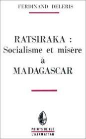 Ratsiraka : socialisme et misère à Madagascar - Couverture - Format classique