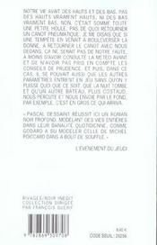 La Vie N'Est Pas Une Punition - 4ème de couverture - Format classique