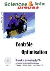 Contrôle, optimisation - Couverture - Format classique