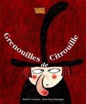 Grenouilles De Citrouille - Couverture - Format classique