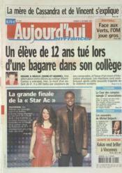 Aujourd'Hui En France N°1844 du 22/12/2006 - Couverture - Format classique