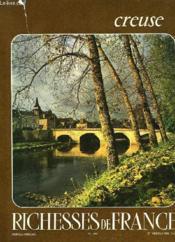 Richesses De France N°100 - La Creuse - Couverture - Format classique