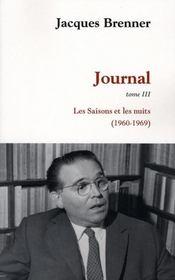 Journal (1960-1969) - Intérieur - Format classique
