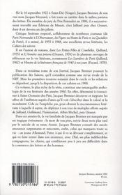 Journal (1960-1969) - 4ème de couverture - Format classique