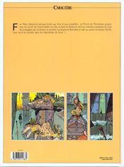 Les eaux de Mortelune t.4 ; les yeux de Nicolas - 4ème de couverture - Format classique