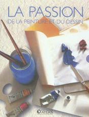 Coffret la passion de la peinture et du dessin - Intérieur - Format classique