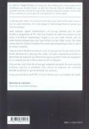 PHYSIQUE DES ONDES ; FICHES, METHODES ; pc, pc* - 4ème de couverture - Format classique