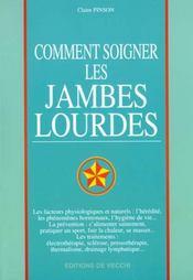 Comment Soigner Les Jambes Lourdes - Intérieur - Format classique