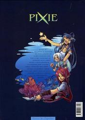 Pixie t.3 ; tidia - 4ème de couverture - Format classique