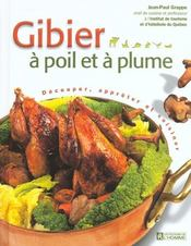 Gibier A Poil Et A Plume - Intérieur - Format classique