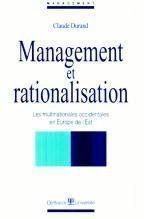 Management Et Rationalisation Multination.Occid. En Europe De L'Est - Couverture - Format classique