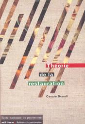 Theorie De La Restauration - Couverture - Format classique