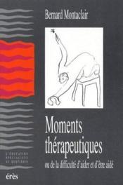 Moments Therapeutiques - Couverture - Format classique