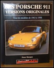 La Porsche 911 - Versions Originales - Couverture - Format classique