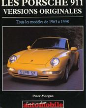 La Porsche 911 - Versions Originales - Intérieur - Format classique