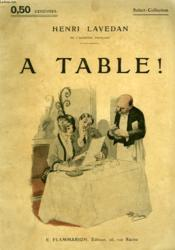 A Table ! Collection : Select Collection N° 10 - Couverture - Format classique