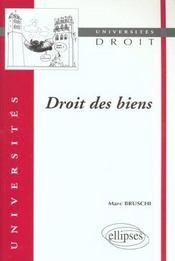 Droit Des Biens - Intérieur - Format classique