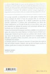 L'Epreuve De Travaux Pratiques De Chimie A L'Oral Des Concours Ens Pc-Pc*-Bcpst - 4ème de couverture - Format classique
