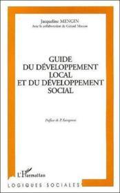 Guide du développement local et du développement social - Couverture - Format classique
