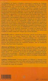 Guide Medical Francais-Tamasheq - 4ème de couverture - Format classique