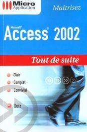 Td suite access 2002 - Intérieur - Format classique