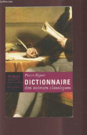 Dictionnaire Auteurs Classique - Couverture - Format classique