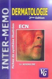 Dermatologie (2e édition) - Intérieur - Format classique