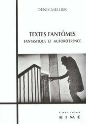 Textes Fantomes - Intérieur - Format classique
