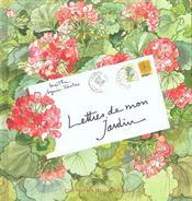 Lettres De Mon Jardin - Intérieur - Format classique