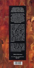 Préfaces et préambules - 4ème de couverture - Format classique