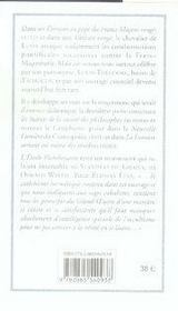 L'Etoile Flamboyante Ou La Societe Des Francs-Macons T.1 Et T.2 - 4ème de couverture - Format classique