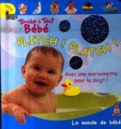 Plitch platch - Couverture - Format classique
