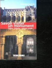 Savoir visiter un monument - Couverture - Format classique