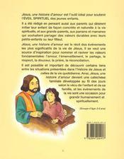 Jesus Une Histoire D'Amour - 4ème de couverture - Format classique