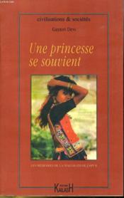 Une Princesse Se Souvient : Memoires De La Maharani De Jaipur - Couverture - Format classique