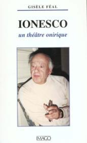 Ionesco, un théâtre onirique - Couverture - Format classique
