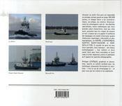 Remorqueurs de ports - 4ème de couverture - Format classique