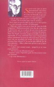 La Tete Du Professeur Dowell - 4ème de couverture - Format classique