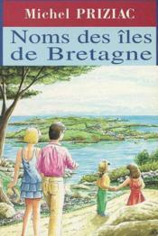 Noms des îles de Bretagne - Couverture - Format classique