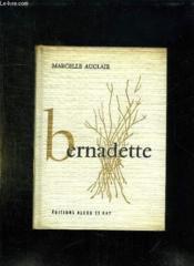 Bernadette. - Couverture - Format classique