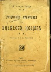 Premieres Aventures De Sherlock Holmes. - Couverture - Format classique
