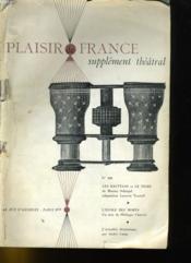 Plaisir De France Supplement Theatral N°308 - Couverture - Format classique