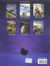 Polly et les pirates t.2 ; la captive du titania - 4ème de couverture - Format classique